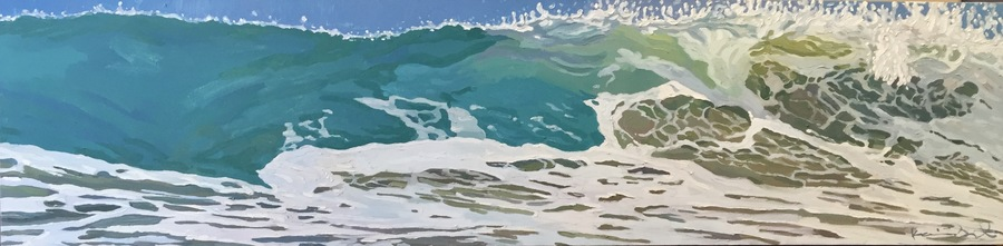 "Kevin Short - ""Loves Lazy Line"" - Oil - 18"" x 72"""