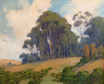 "GEORGE DEMONT OTIS - ""Glory of a Sunny Day"" - Oil on Canvas - 24"" x 30"""