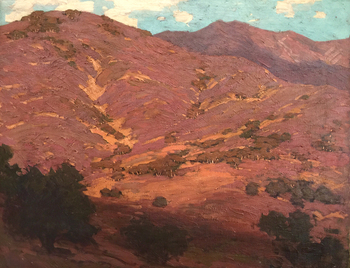 "EDGAR ALWIN PAYNE - California Hills - Oil on Canvas - 22"" x 27"""