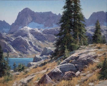 "MATT SMITH - ""Ediza Lakes' North Shore"" - Oil - 24"" x 30"""
