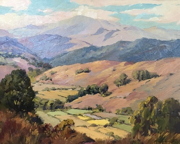 "GEORGE DEMONT OTIS - ""Corte Madera Valley"" - Oil - 24"" x 30"""