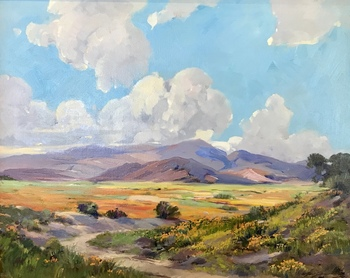 "GEORGE DEMONT OTIS - ""Antelope Valley"" - Oil - 24"" x 30"""