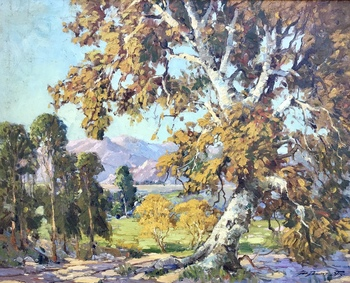 "GEORGE DEMONT OTIS - ""Autumn's Glory"" - Oil on Canvas - 24"" x 30"""