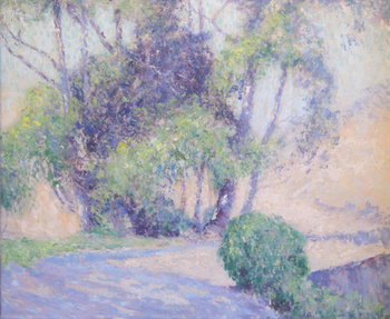 "WILLIAM HENRY CLAPP - Light and Shadows - Oil on Board - 20"" x 24"""